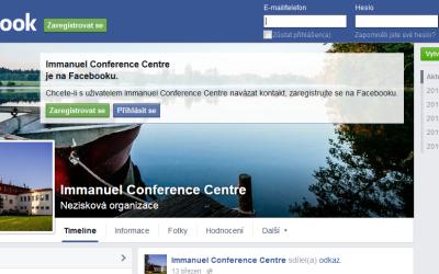 Jsme také na facebooku