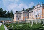 zámek Nové hrady, rokokové zahrady